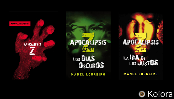 Copertine originali trilogia Apocalisse Z