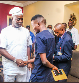 Seyi Makinde Visits Lautech University