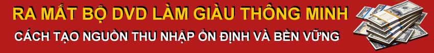 BỘ DVD LÀM GIÀU THÔNG MINH
