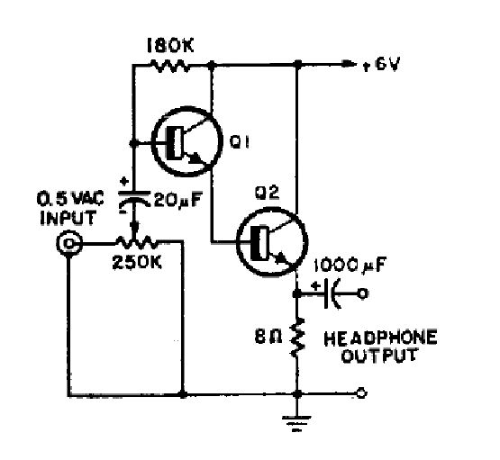 Simple Small Amplifier Circuit Diagram Using Ic – name