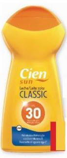 Leche protectora solar Classic Cien