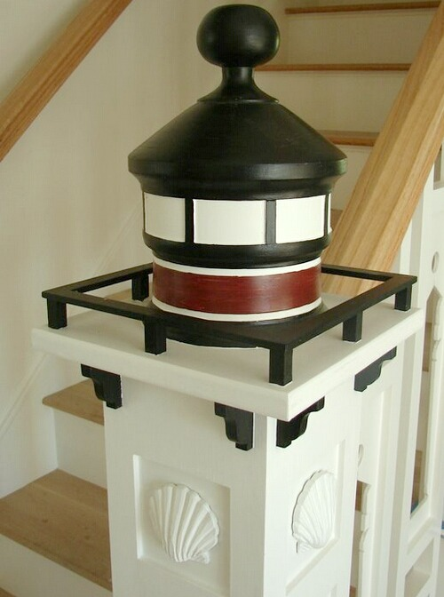 Lighthouse Newel Cap