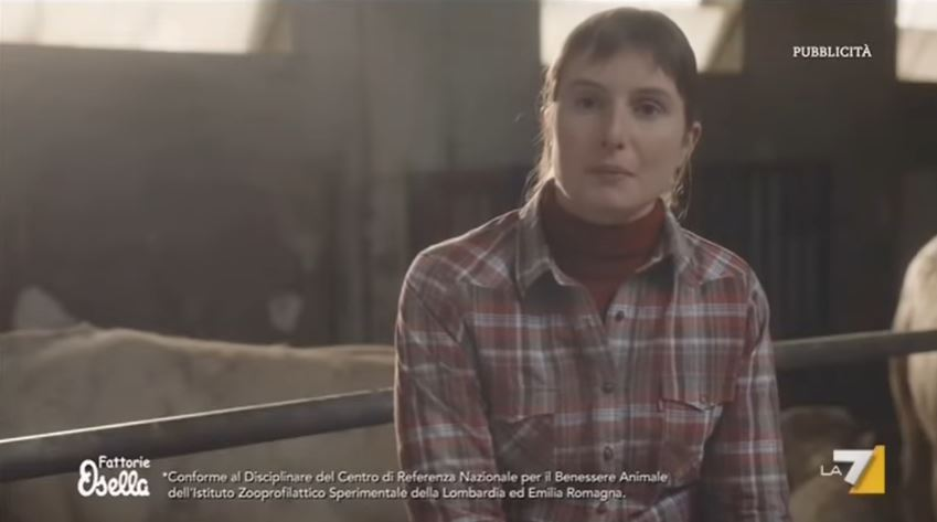 Modello e modella Fattorie Osella pubblicità la bontà esiste davvero con Foto - Testimonial Spot Pubblicitario 2017