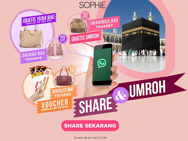 sophieparis, sophiemartin, sophie paris promo online, sophie martin promo online, sophie paris indonesia, tas sophie paris, tas sophie martin, sophie paris berhadiah umroh,  hadiah umroh, share and win, shop and win, tas bertilles, tas dachau, tas dravinica, lucky draw, share and umroh, sophie paris philippines, sophie paris marocco