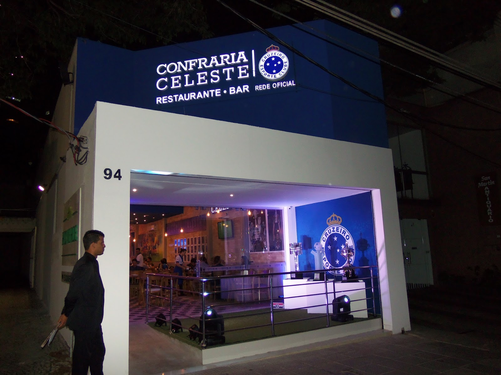 Restaurante oficial do Cruzeiro