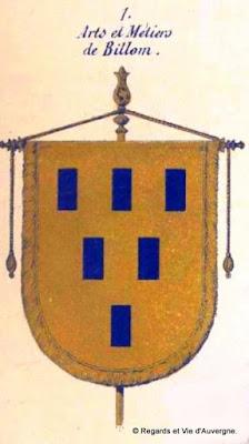 Bannière des Arts et Métiers d'Auvergne, Billom