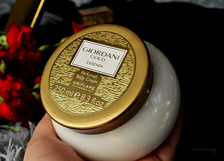 Oriflame Giordani Gold Essenza Perfumowany krem do ciała recenzja