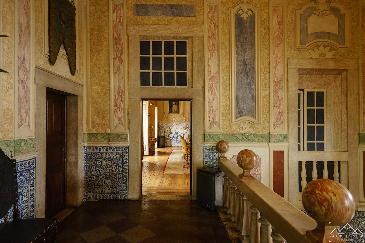 Interior do Palácio Fronteira