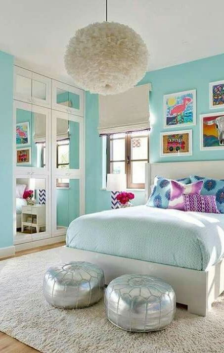 Turquoise Room Decorations, Colors of Nature & Aqua Exoticness Inspirations