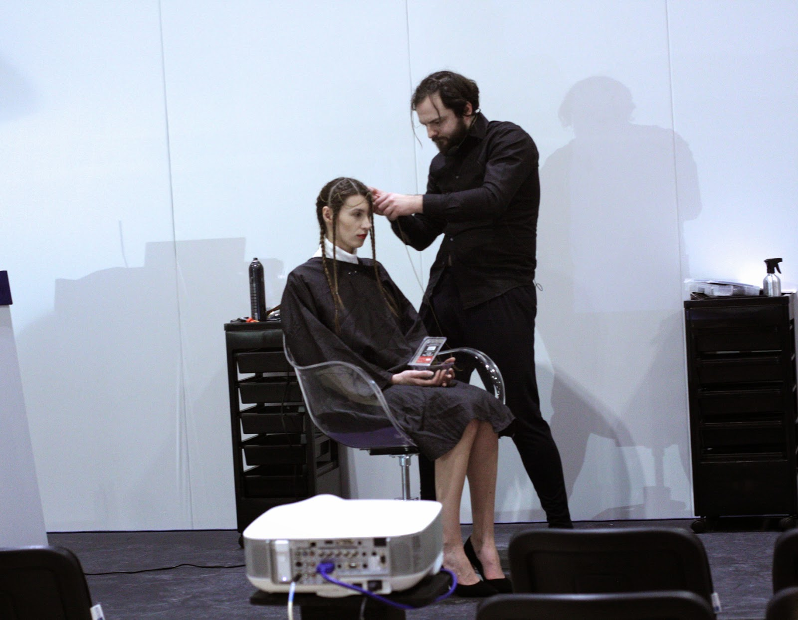 Professional Beauty London Show - live hair demonstration