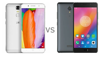 ZTE Blade A2 Plus vs Lenovo P2