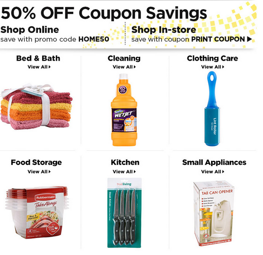 dollar store online free shipping dollar general for 50 select home items 12129