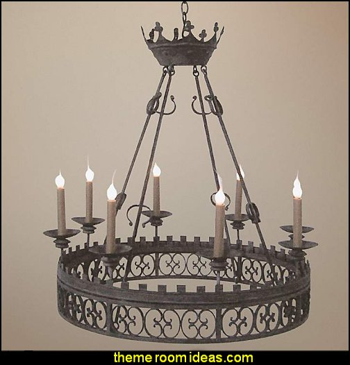 Laura Lee King Arthur 8-Light Chandelier