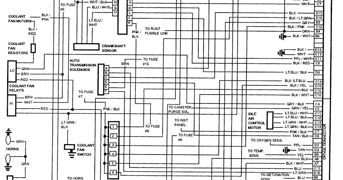 1992 Buick LeSabre Wiring Schematic | Schematic Wiring