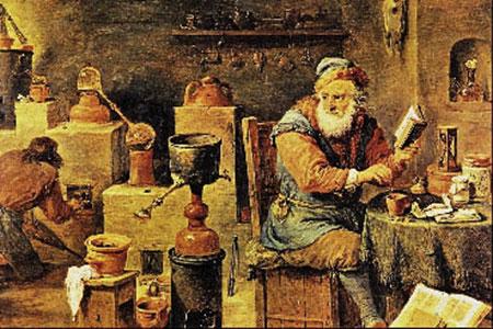 Los alquimistas y la búsqueda de la