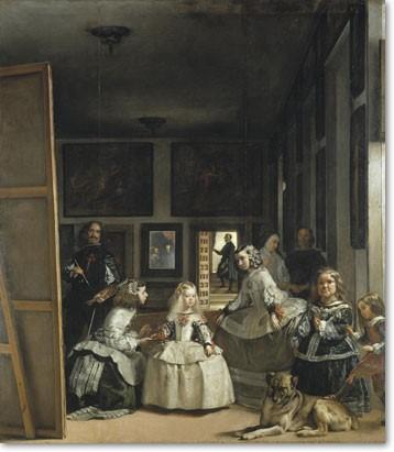 """Las Meninas"" by Diego Velázquez 1656_psartworks.in"