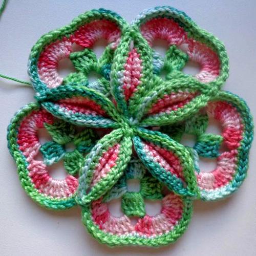 Princessa - Free Crochet Diagram