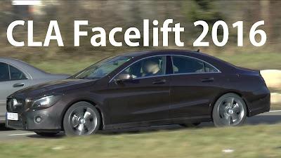 Mercedes CLA Facelift  Hd Images