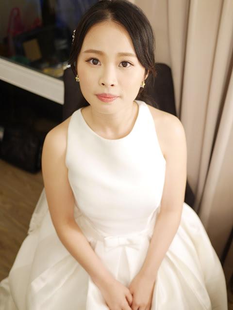 台北新秘|新秘推薦|新娘秘書|彩妝造型師|婚禮造型| 新娘造型2017 | 白紗造型2017