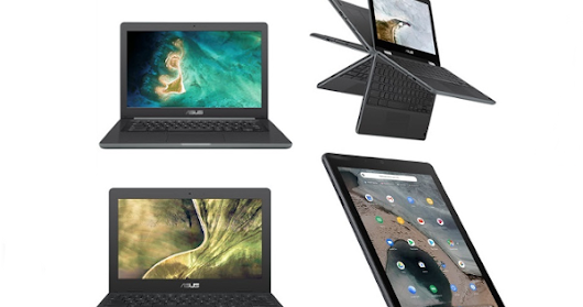 CES 2019: ASUS debuts Chromebook C204, Chromebook C403, Chromebook Flip C214 convertible and Chromebook Tablet CT100 - Price, Availability, Specifications