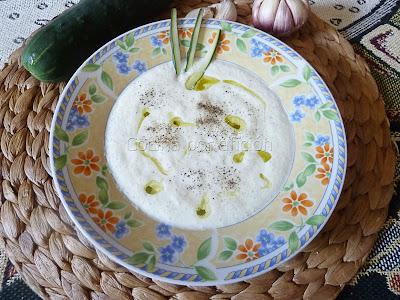 tzatziki, pepino, yogur, griego