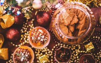 Wallpaper: Christmas Cookies