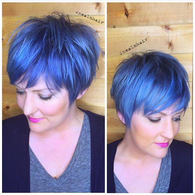 Stunning Colored Short Haircuts The Haircut Web