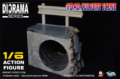 osw.zone Check out the ToysCity 1 / 6th Diorama Series - 12 inch action figure roadway
