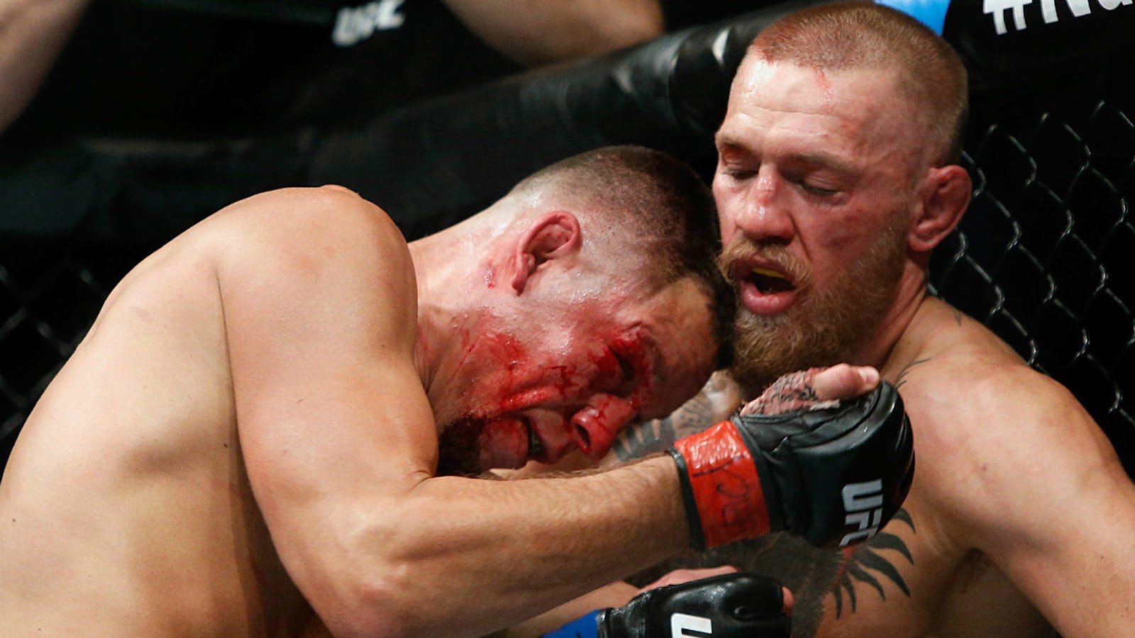 CONOR MCGREGOR VS. NATE DIAZ 12