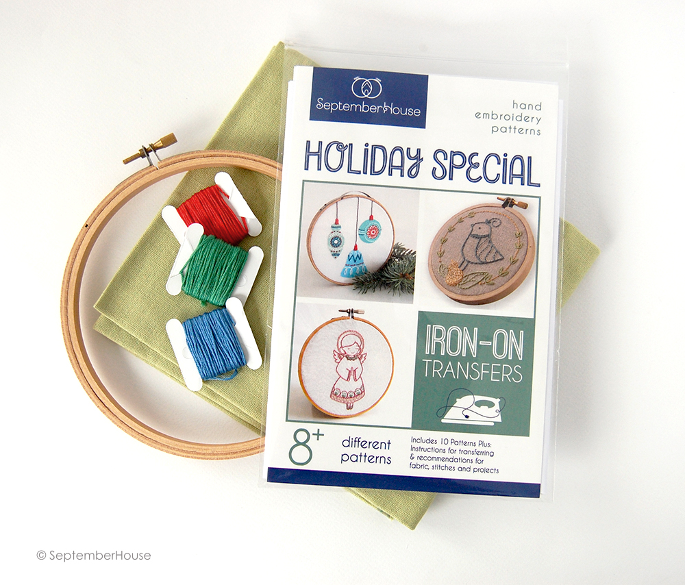 So September New Iron On Embroidery Patterns From Septemberhouse