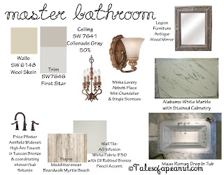 Building a Home – Master Bathroom Inspiration Board | Tales Of A ... - Floor And Wall Tile Color Combinations