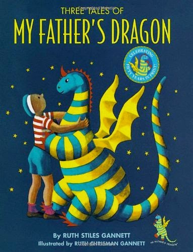 Three Tales of My Father's Dragon as part of Chapter Books for Preschoolers List