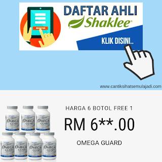 daftar ahli shaklee harga ahli omega guard minyak ikan shaklee