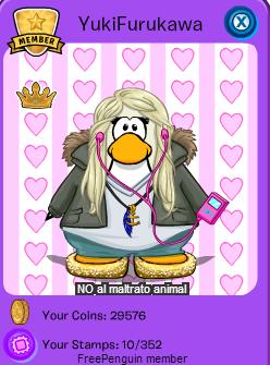codigos de free penguin de pelo