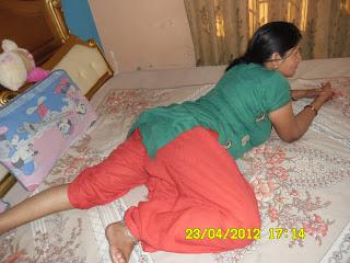 salwar thighs