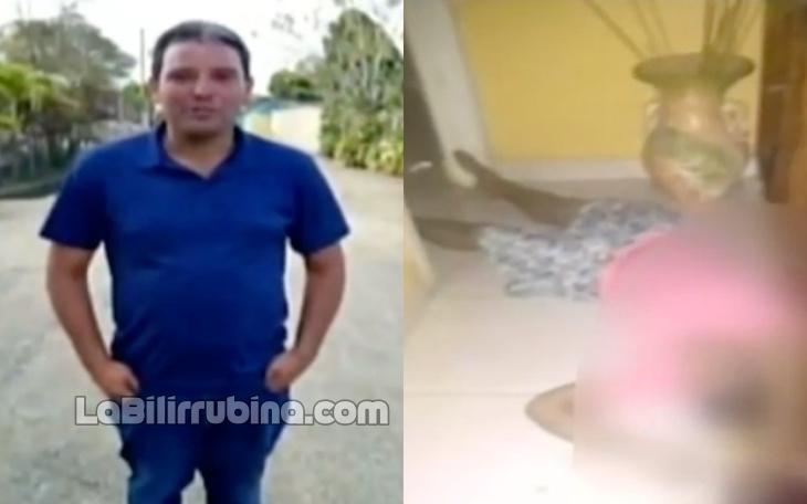 Video: Hombre mata a su madre con una mano de pilón en La Vega