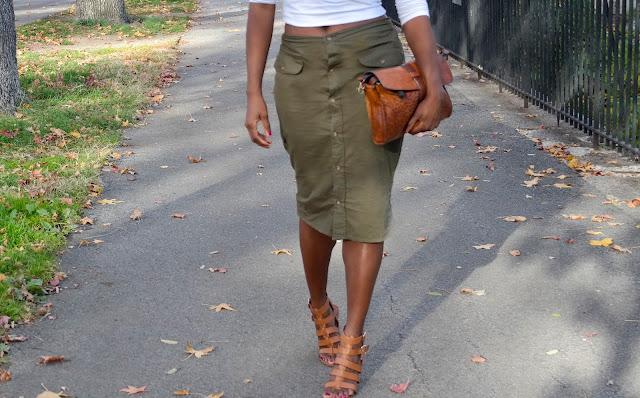DIY Shirt Into a Skirt