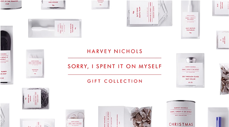 Harvey Nichols Sorry, I Spent It On Myself