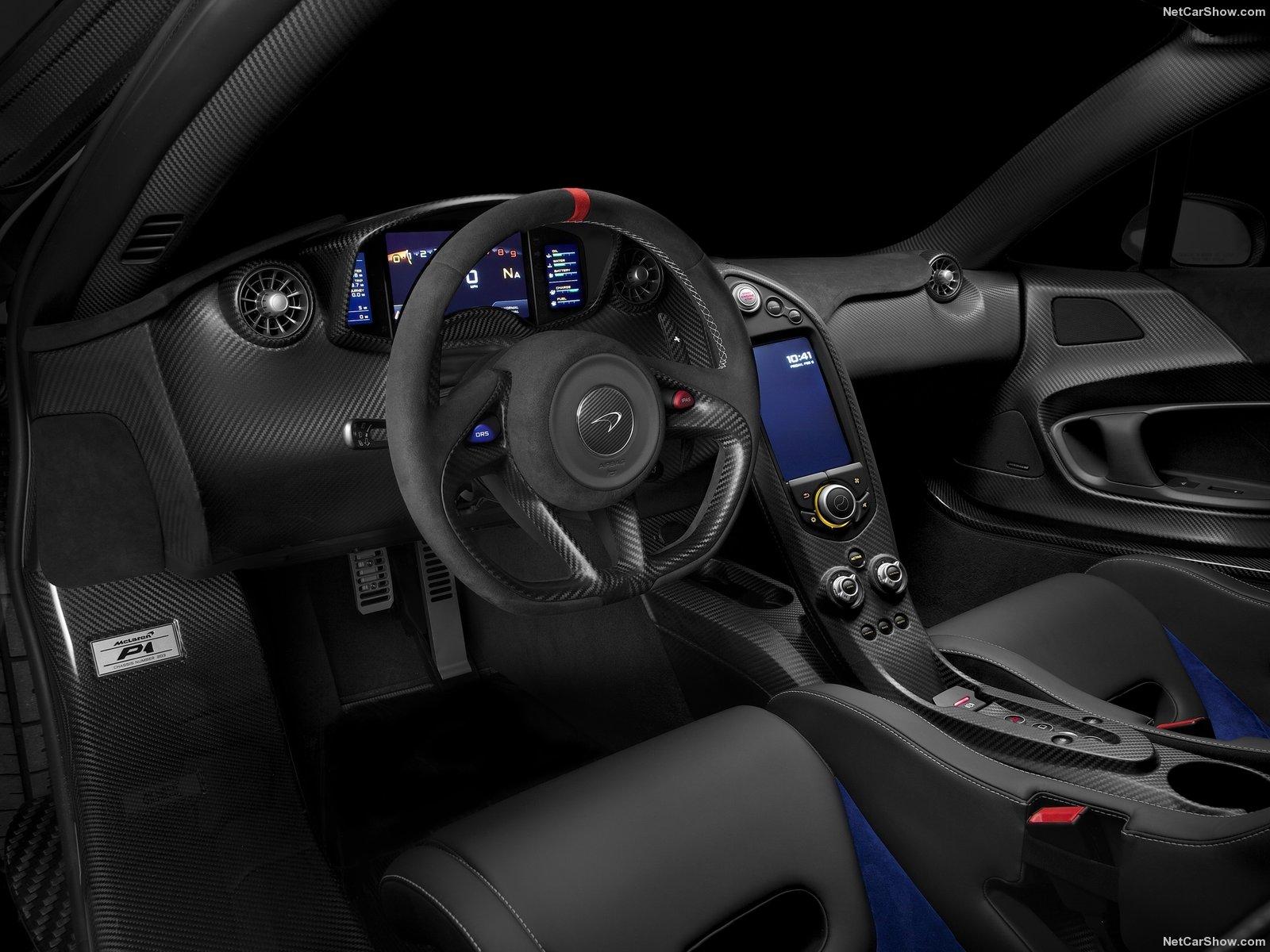 McLaren P1 2015 Interior - Sports Car