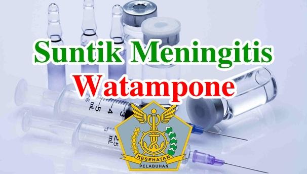 Alamat Tempat Suntik Vaksin Meningitis di Watampone