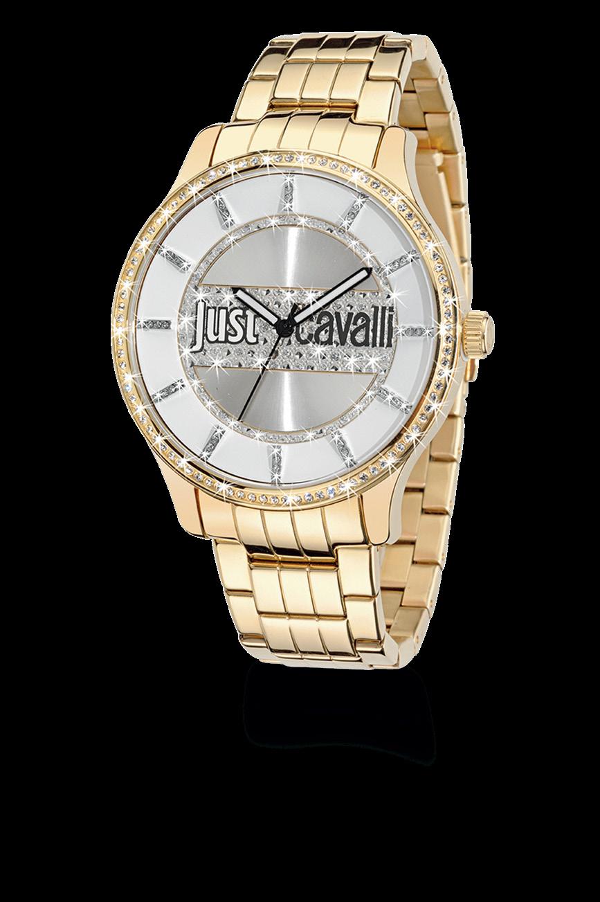 9ff70b5fcfa Estação Cronográfica  Chegado ao mercado - relógio Just Cavalli Huge Mid