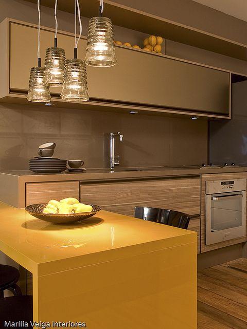 cozinha-com-amarelo-decoração