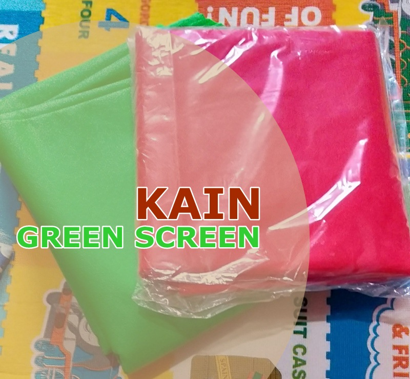 Kain Green Screen Murah