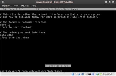 nano /etc/network/interfaces