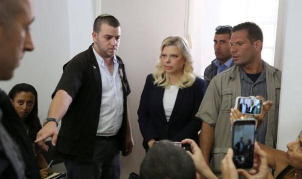 زوجة رئيس الوزراء الاسرائيلي سارة نتنياهو تخضع للمحاكمة بتهمة الفساد.