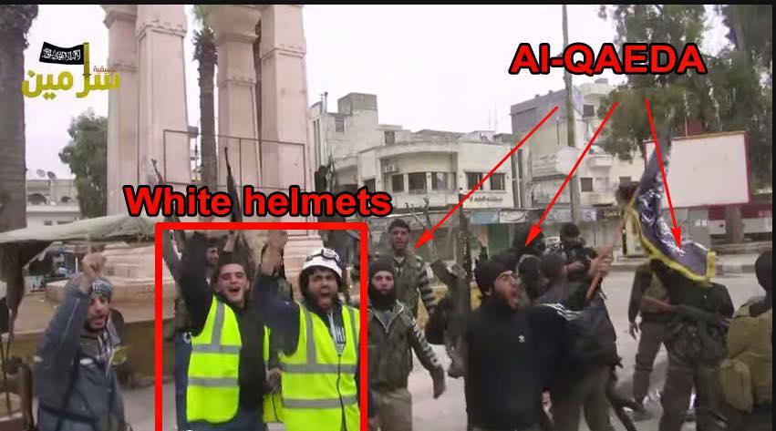 Resultado de imagen de cascos blancos al qaeda