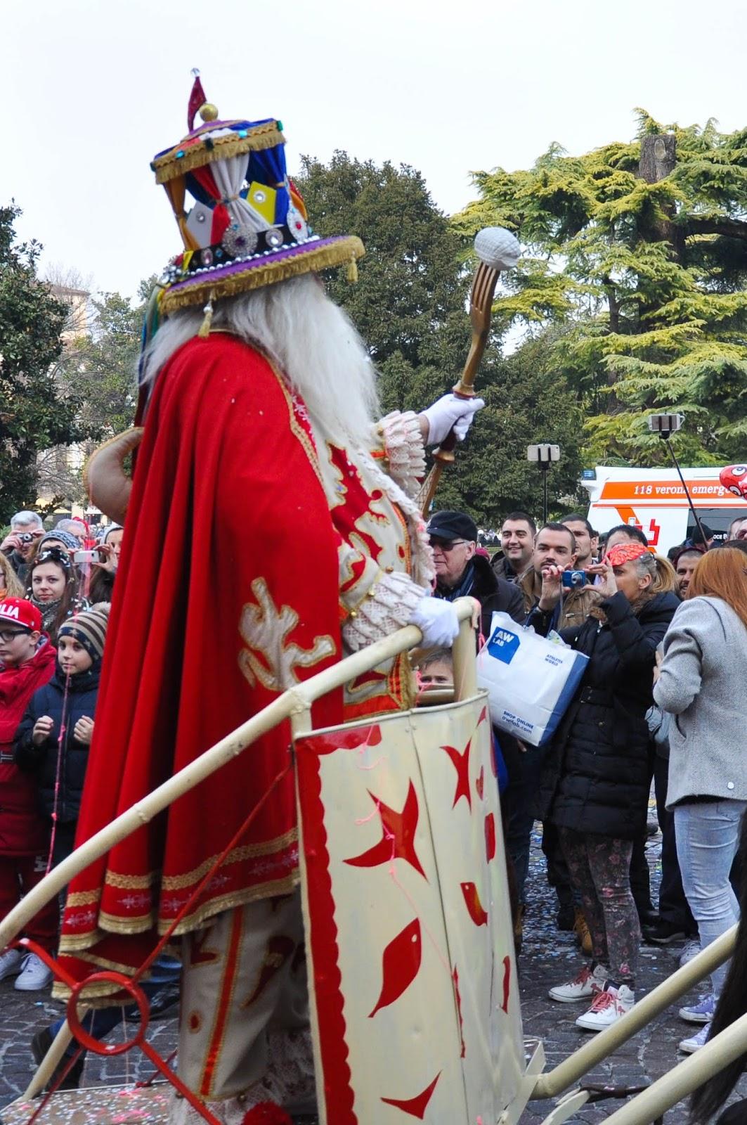 Il Papa del Gnoco - Verona Carnival