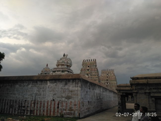 Sri Yoga Ramar Temple Outer Prakaram