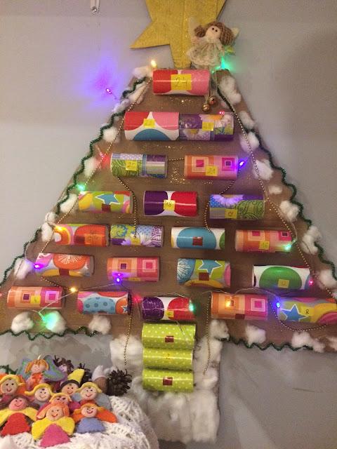 Kalendarz adwentowy dla dzieci DIY