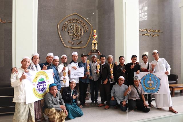 Juara Umum, Dalwa Rajai Event Tingkat Nasional di UIN Maulana Malik Ibrahim Malang | lpm dalwa | dalwa